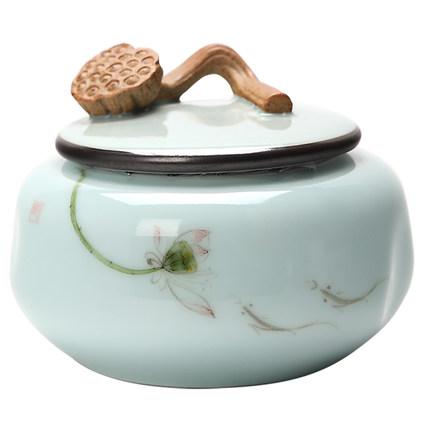 陶瓷茶叶罐大号罐密封罐家用白茶红茶普洱茶储存防潮罐