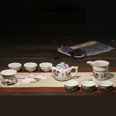 陶瓷家用盖碗茶杯