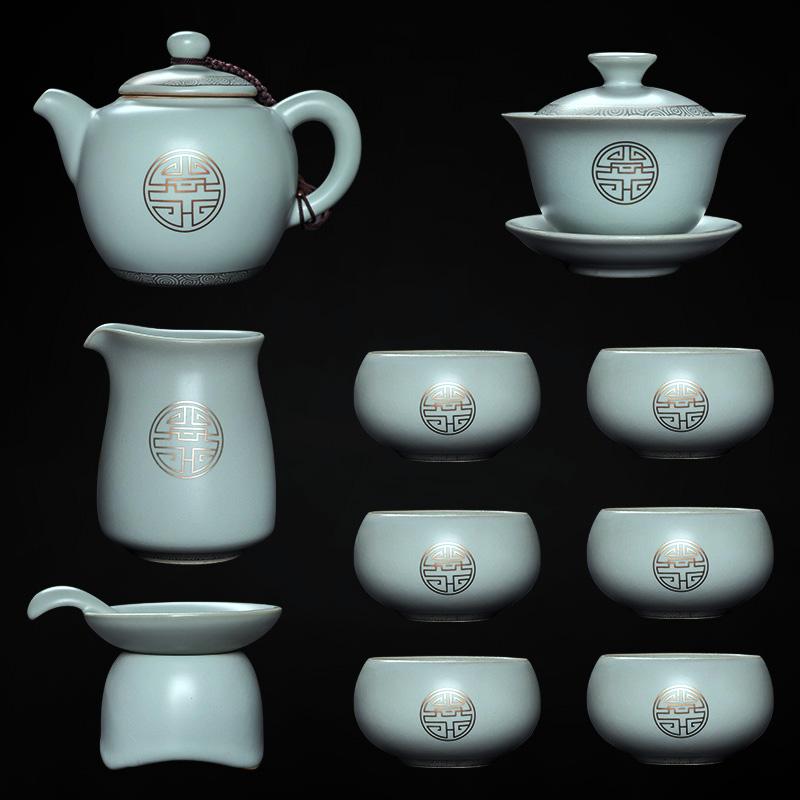 中式创意茶具礼盒套装