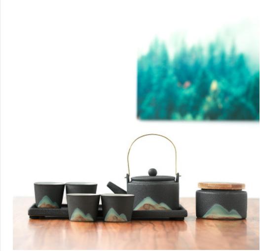 现代新中禅意意境茶具