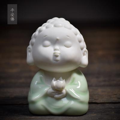 景德镇陶瓷创意中式雕塑瓷摆件