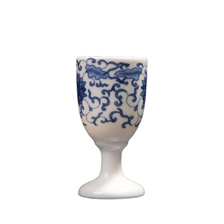 陶瓷中式创意白酒杯