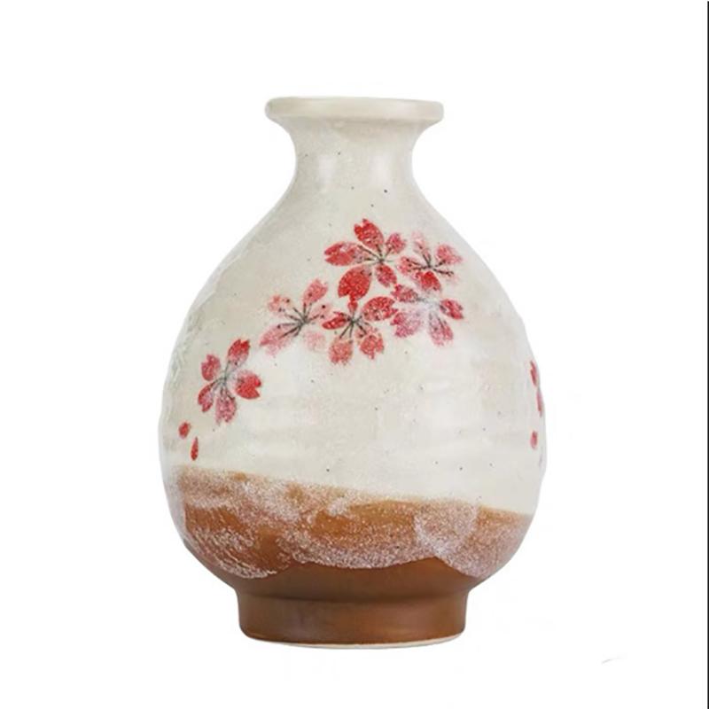 日式清酒壶白酒杯