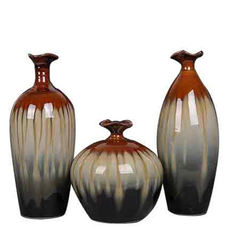 景德镇陶瓷北欧风花瓶摆件