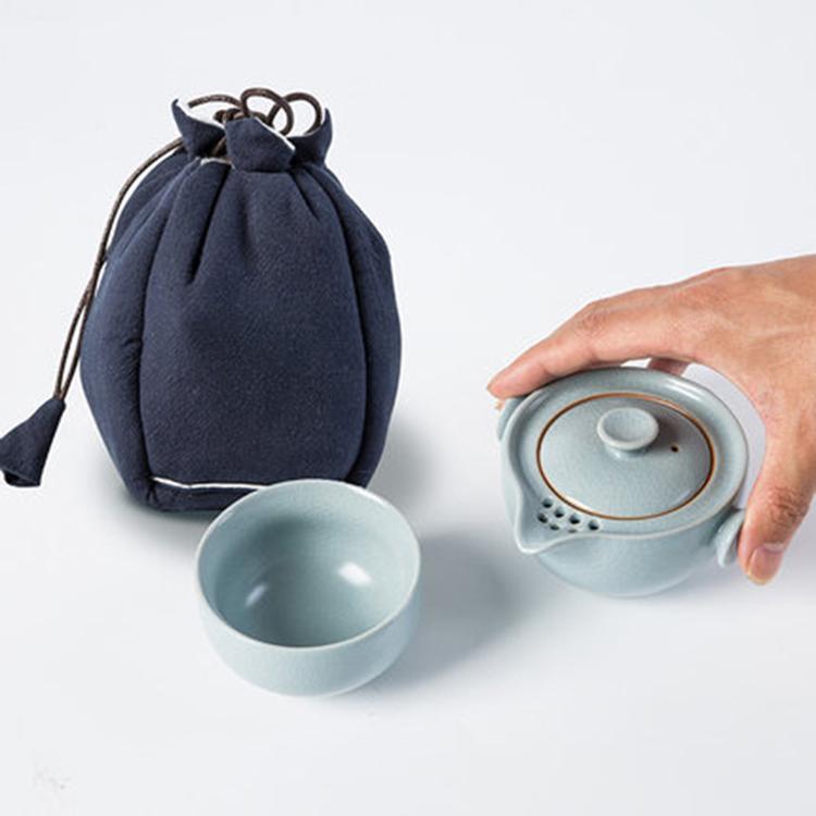 现代陶瓷旅行功夫茶具