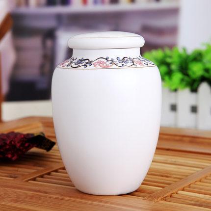 简约小茶叶罐陶瓷家用禅意茶具茶仓储茶罐定制陶瓷礼品