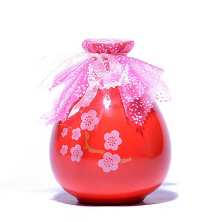 中式陶瓷小酒壶
