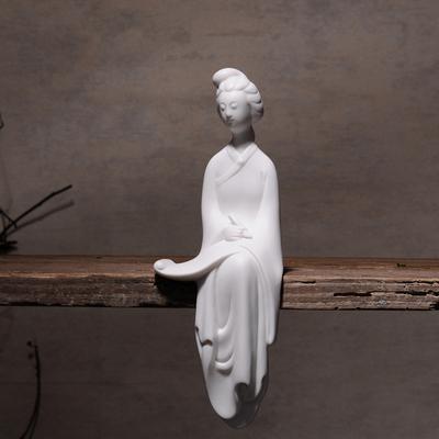 景德镇陶瓷仕女家居摆件