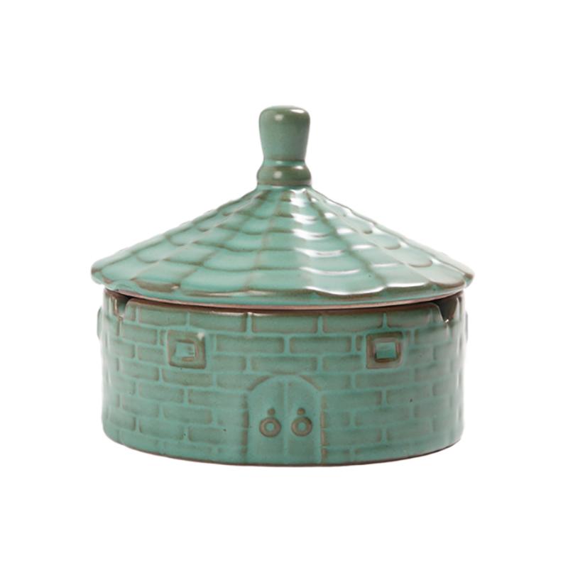陶瓷创意个性烟灰缸