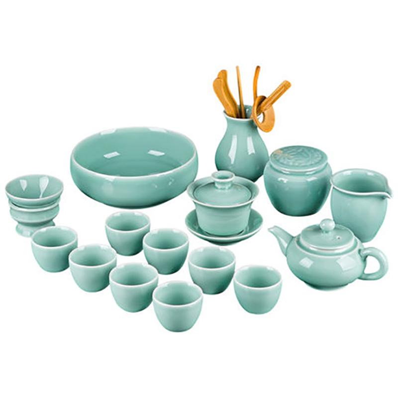 复古陶瓷功夫茶具套装