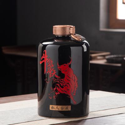 陶瓷家用酒瓶5斤装