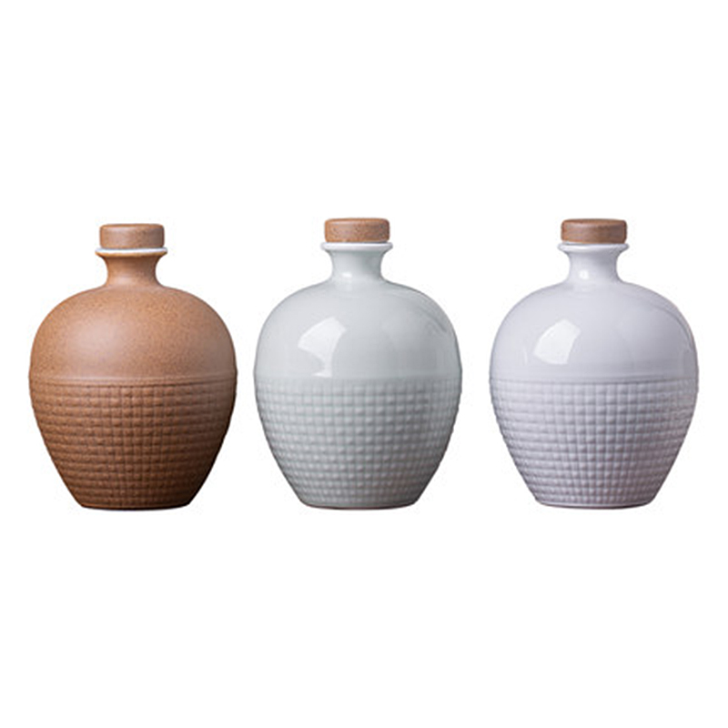 仿古陶瓷酒瓶一斤装酒坛子