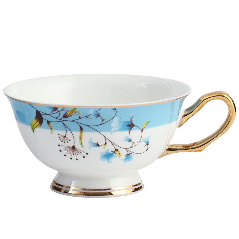 骨瓷新中式咖啡杯碟套装