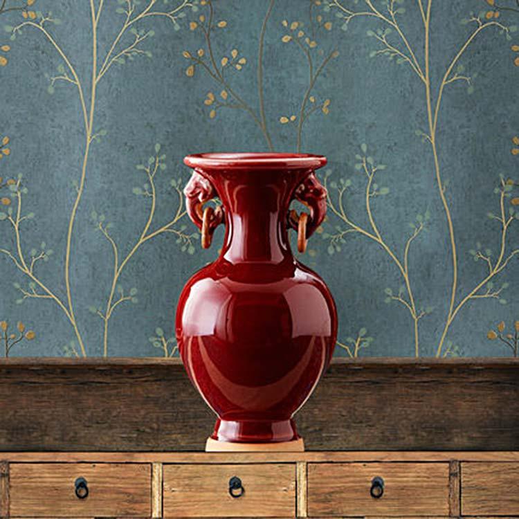 景德镇陶瓷青花瓷花瓶