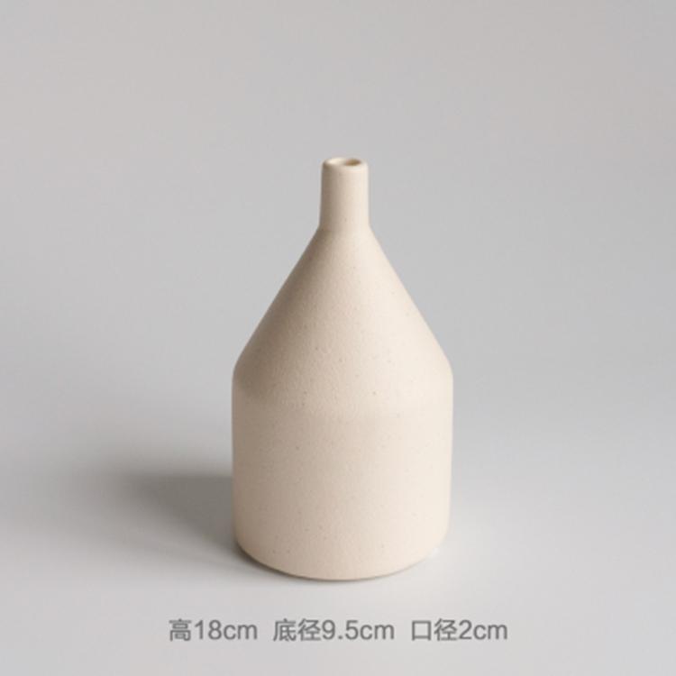景德镇陶瓷花瓶插花干花摆件
