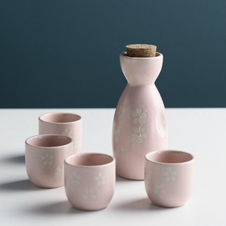 日式清酒壶套装