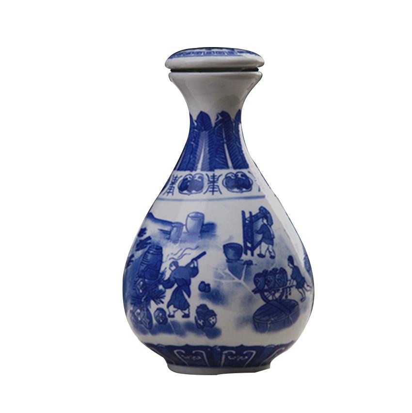1斤装陶瓷酒瓶