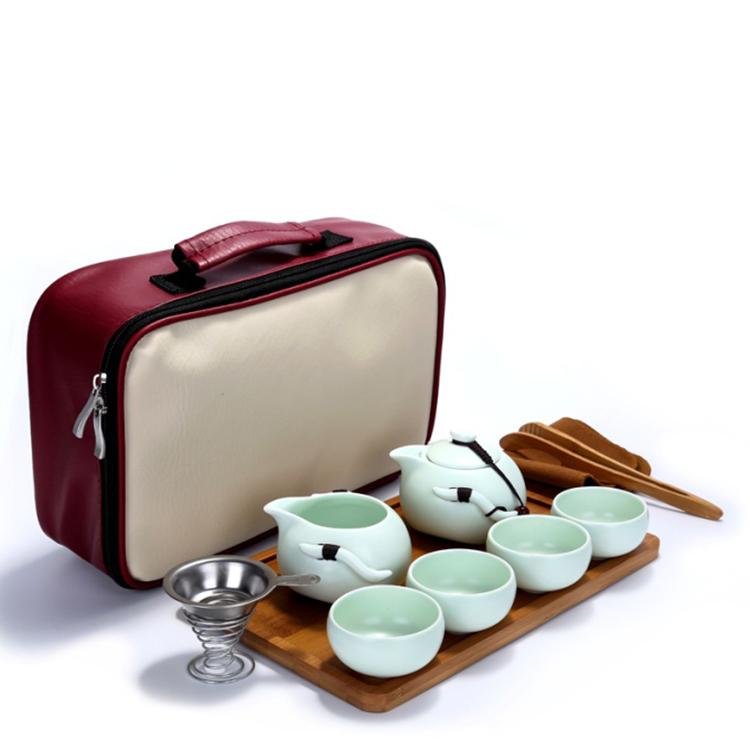 陶瓷家用旅行功夫茶具套装