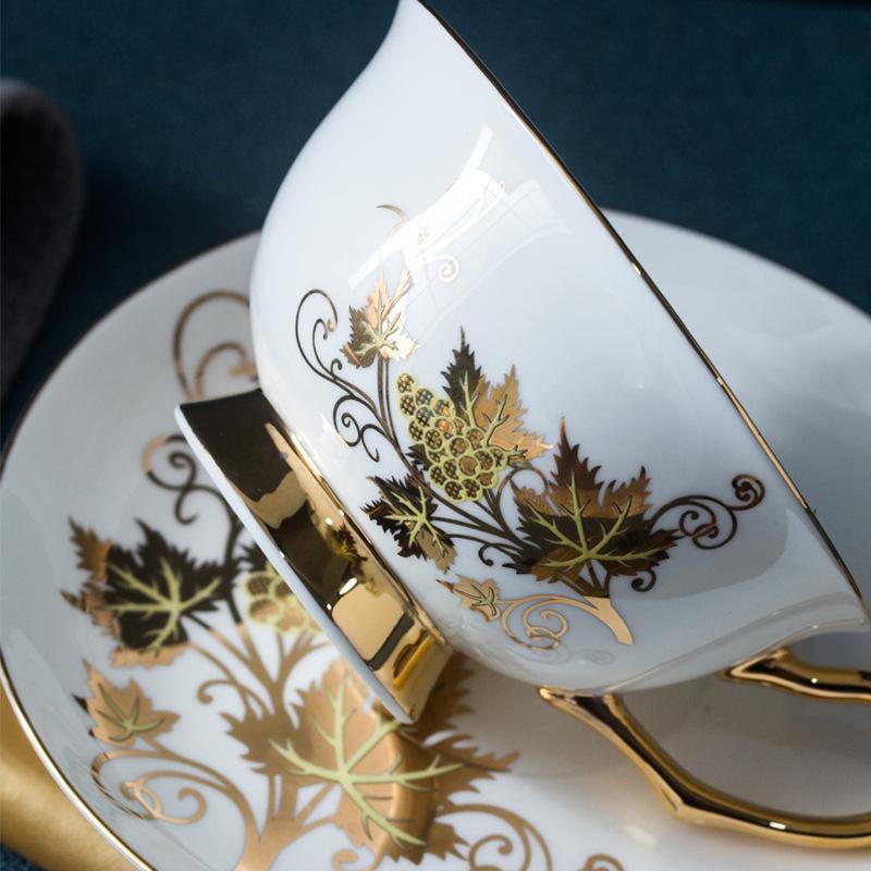 欧式创意优雅咖啡杯