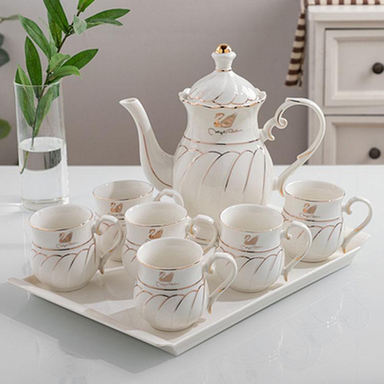北欧陶瓷茶杯套装
