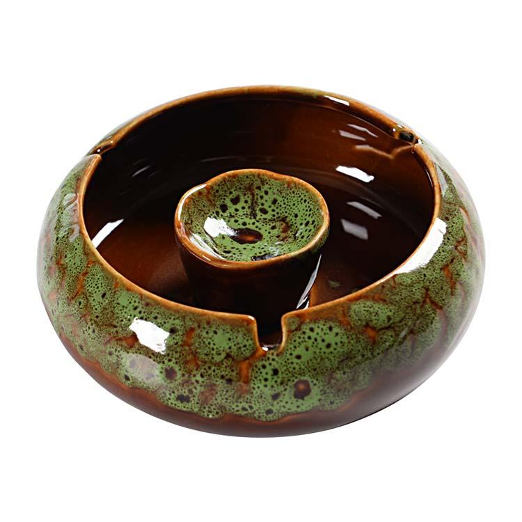 新中式陶瓷烟灰缸