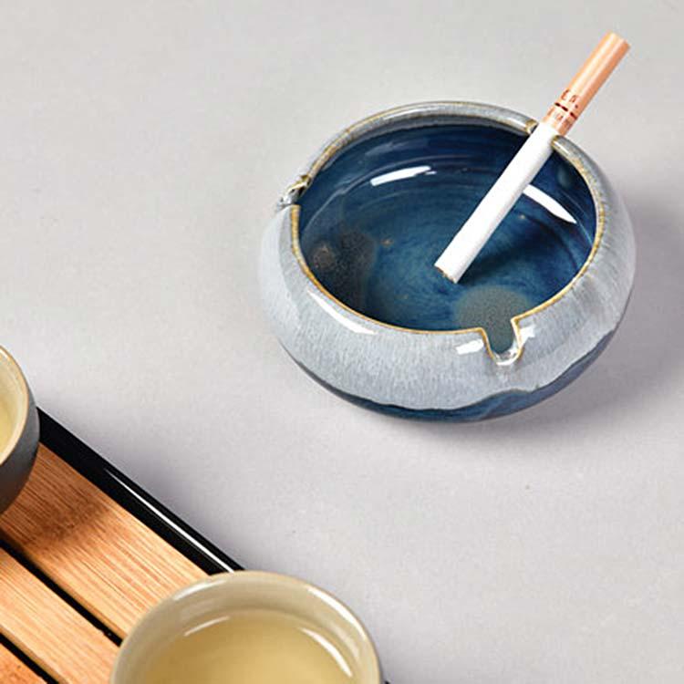 北欧创意个性陶瓷烟灰缸
