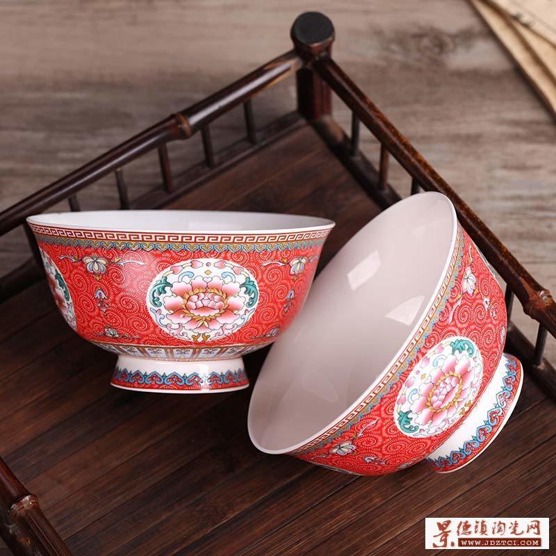 90岁双亲寿辰定制寿碗