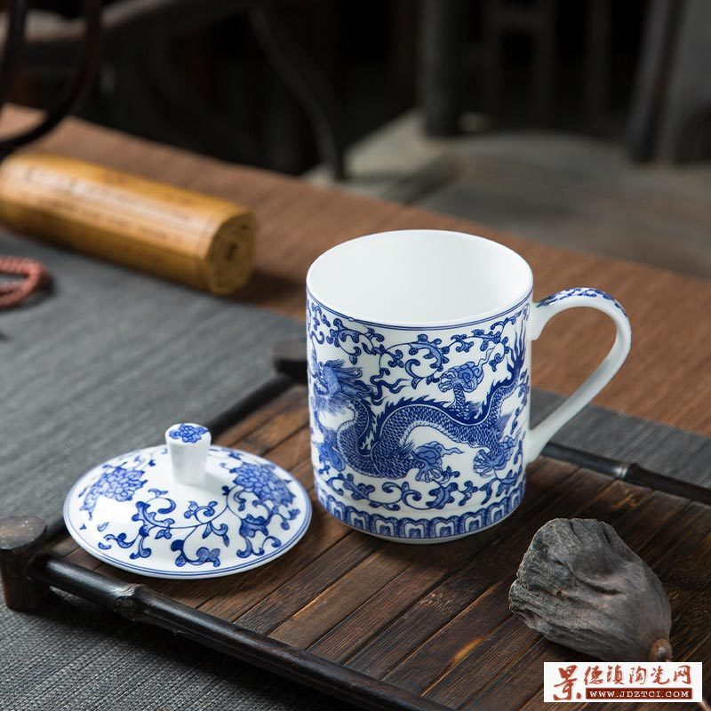 送客户礼品茶杯,纪念礼品陶瓷茶杯