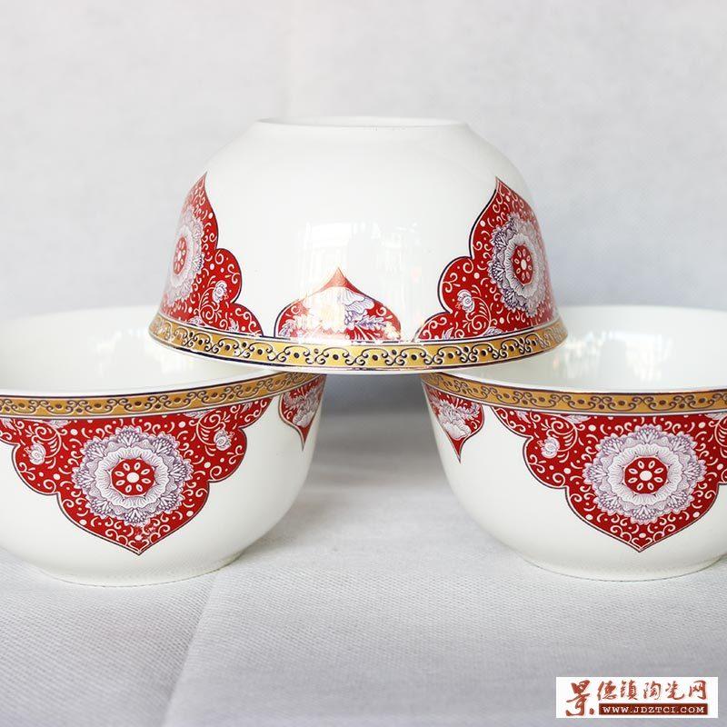 寿辰礼品陶瓷寿碗定做厂家
