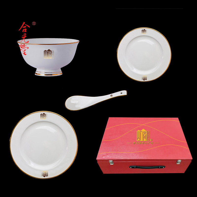 重庆百岁老人留念品陶瓷寿碗烧字印照片
