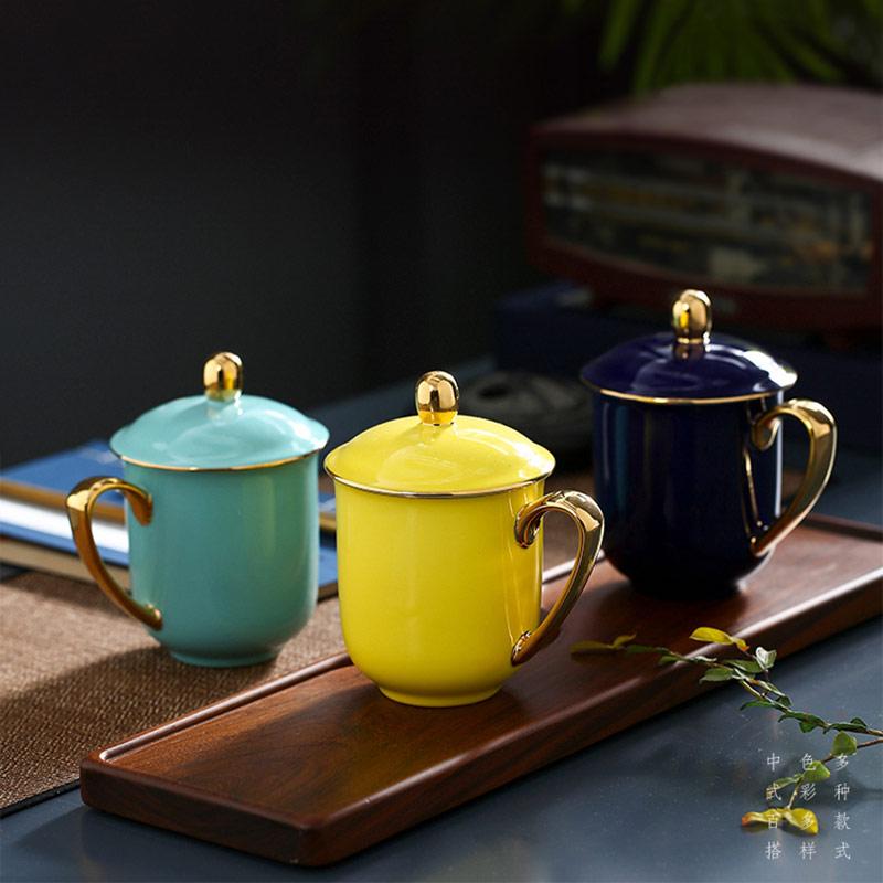 企业礼品陶瓷茶杯定制
