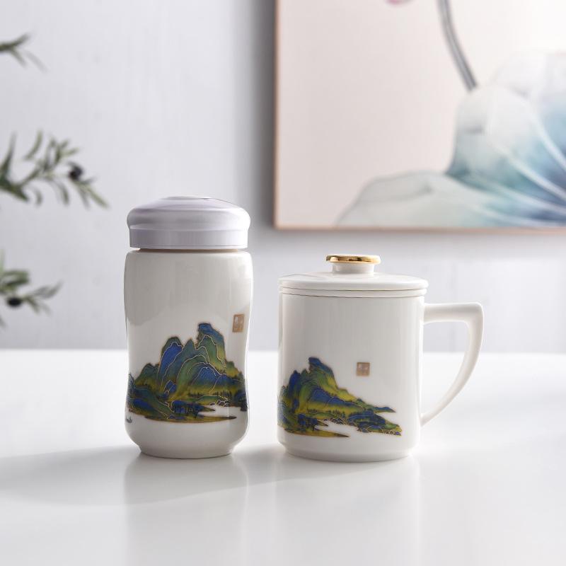 大型活动礼品茶杯定制