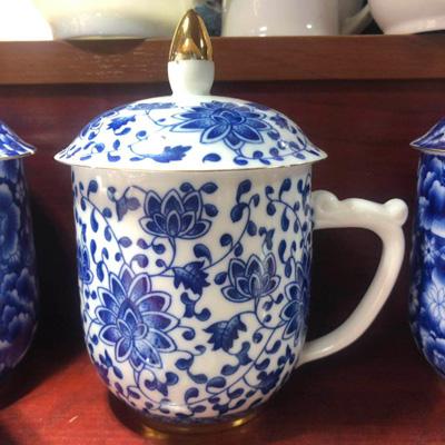 办公杯茶杯陶瓷水杯
