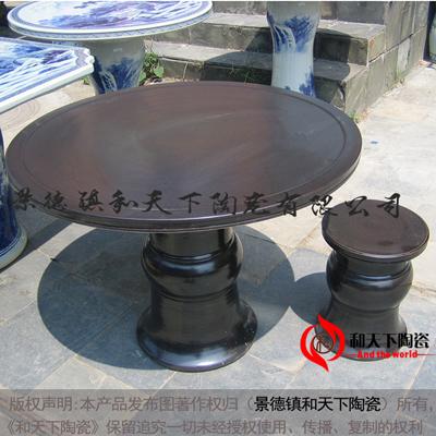 景德镇陶瓷园林瓷桌瓷凳子