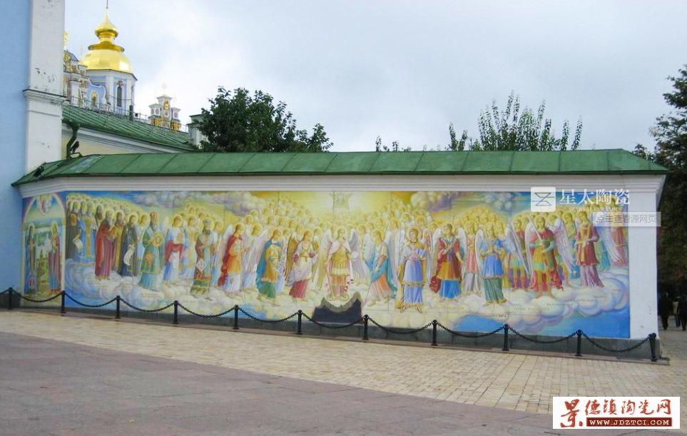 景德镇陶瓷壁画定做陶瓷壁画厂家生产艺术陶瓷壁画