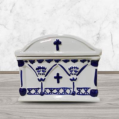 景德镇陶瓷器寿盒棺材