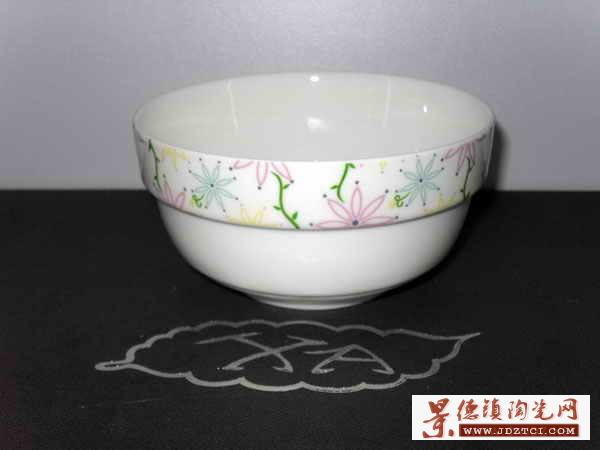 """新安陶瓷-4.25""""护边碗XA0238"""