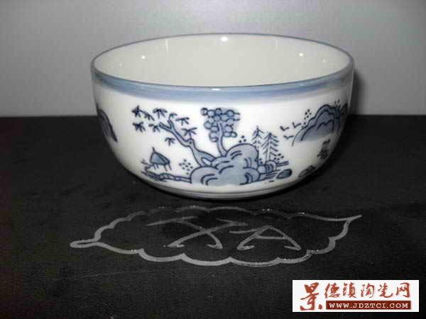 """新安陶瓷-4.25""""韩式碗XA0243"""