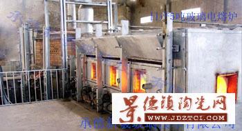 设计建造日产5吨玻璃电熔炉