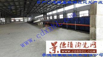 日产12吨微晶玻璃压延生产线