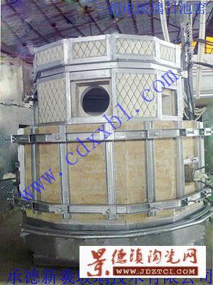 设计建造三相电小型玻璃电熔炉