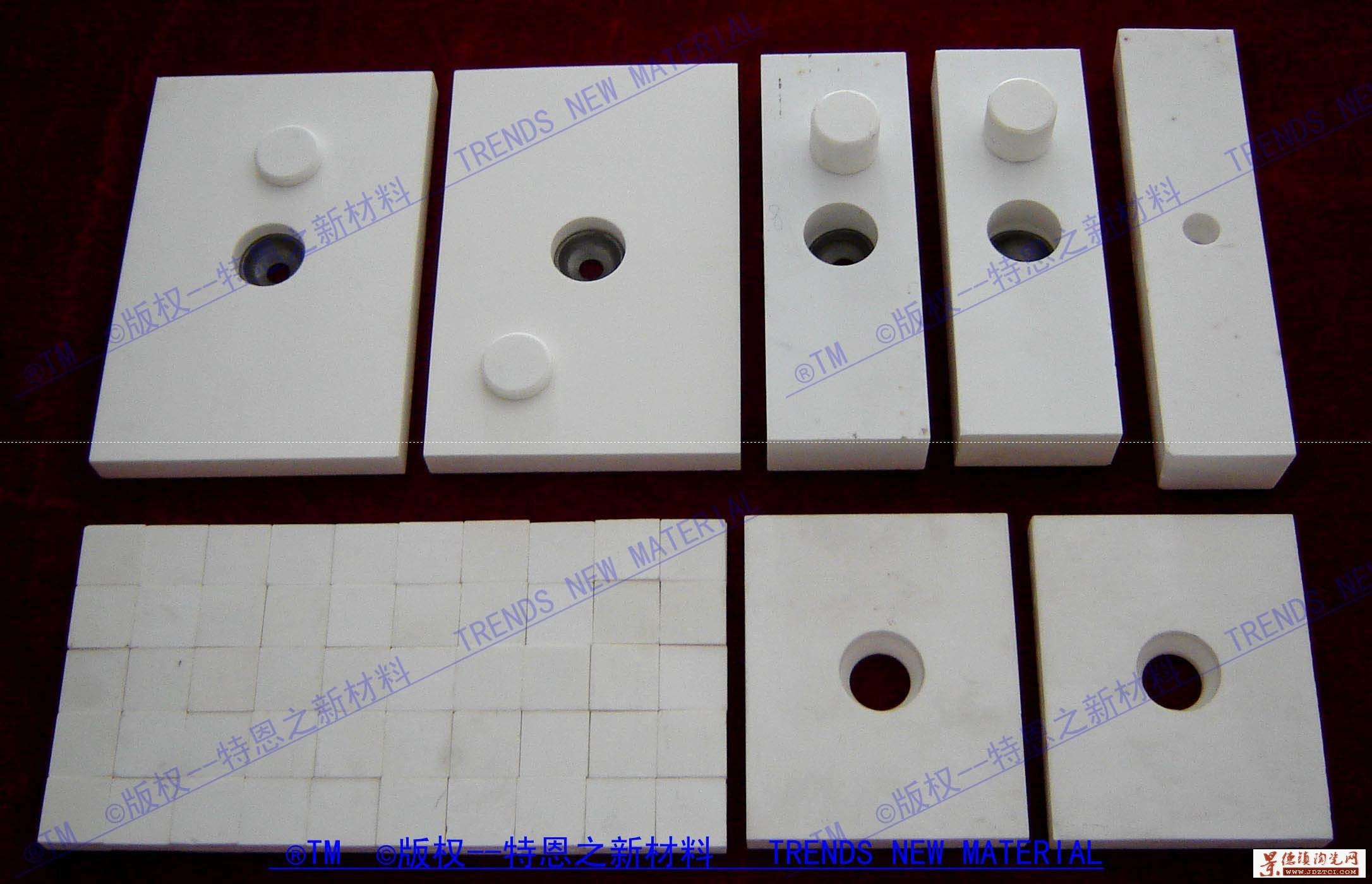 氧化铝耐磨陶瓷衬板、片、砖,本公司专业生产氧化铝陶瓷、陶瓷密封件、陶瓷管棒