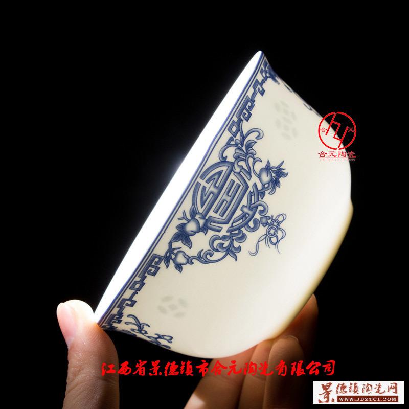 寿碗定做,景德镇骨瓷寿碗礼品
