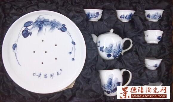 生产加工陶瓷茶具茶杯盖杯