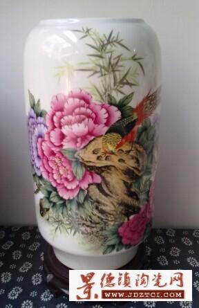 景德镇陶瓷花瓶书画筒