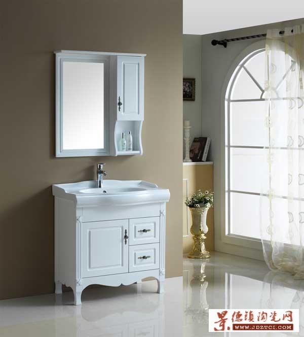 厂家专业定制实木浴室柜