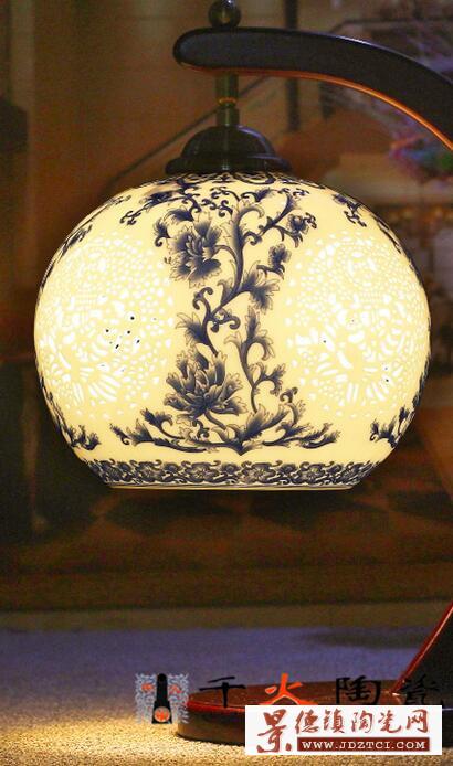 开业礼品瓷陶瓷灯具