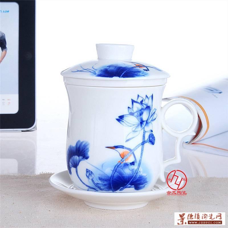青花陶瓷茶杯批发厂家