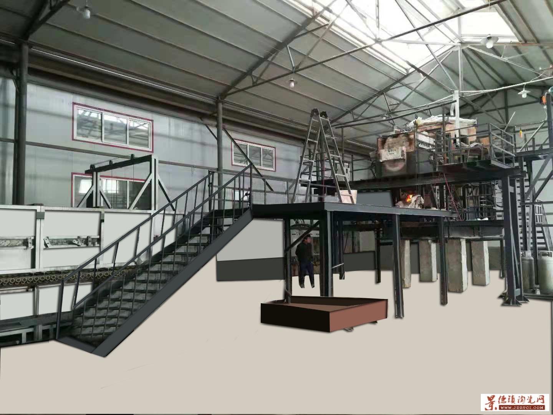 设计建造5吨微晶玻璃生产线