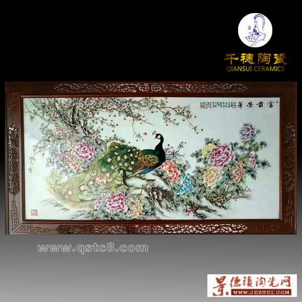 景德镇名家手绘现代瓷板画价格